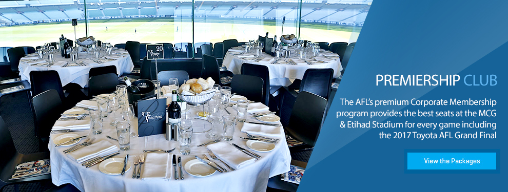 afl corporate hospitality and events