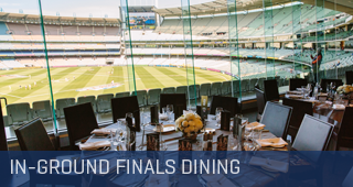AFL Finals Corporate Dining